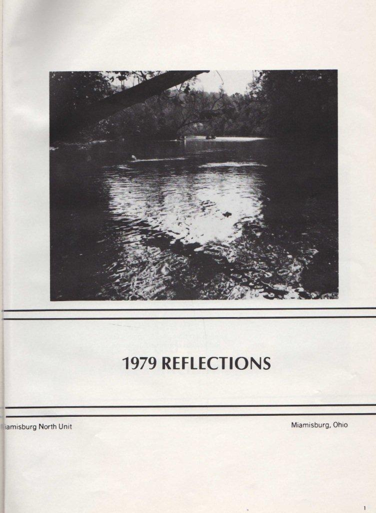 1979 Miamisburg Ohio North Unit Reflections yearbook