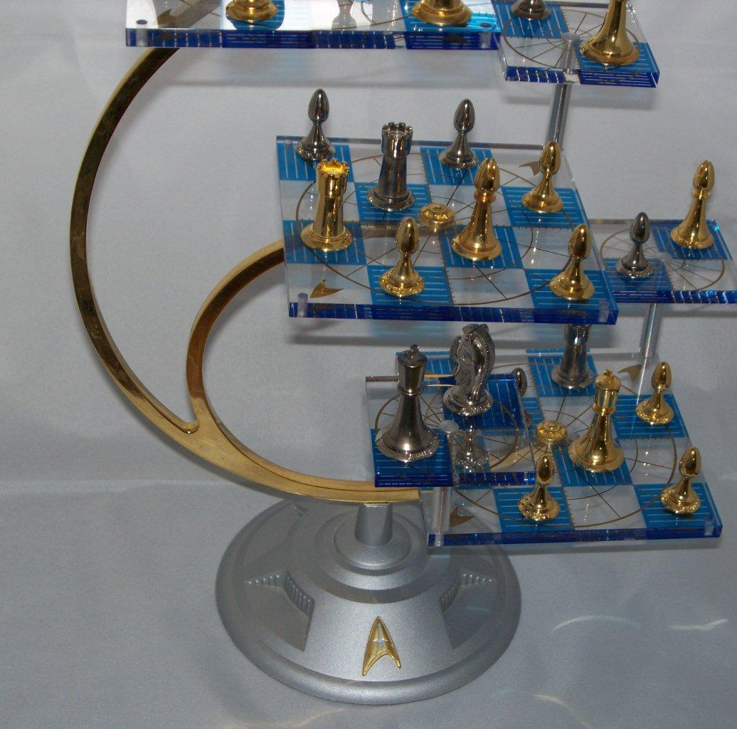 Pin tri dimensional chess rules on pinterest - Tri dimensional chess set ...